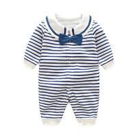 婴儿童连体衣服3个月1岁春秋季秋款长袖女童男宝宝哈衣新生儿爬服