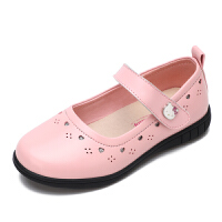 HelloKitty女童公主皮鞋新款女孩休闲单鞋儿童舞蹈鞋
