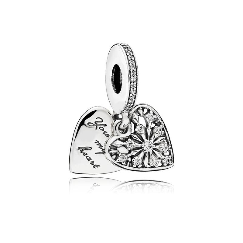 【网易考拉】PANDORA潘多拉女士 冬日之心925银串饰(请注意:收货人姓名号码必须真实且对应,否则订单会被取消)
