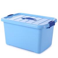 透明整理箱 透明收纳箱塑料整理箱大小号手提盒子装书储物箱
