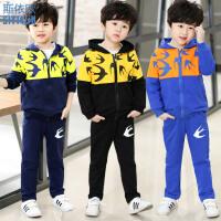 童装套装2018新款儿童小男孩运动春秋季韩版两件套潮衣服男童春装