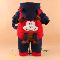 男童装秋冬款套装婴儿小童衣服宝宝冬装0-1-2岁半加厚棉衣外套潮