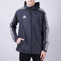adidas阿迪达斯男子外套夹克2018新款足球训练休闲运动服DN2280