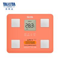 百利达(TANITA) 体脂仪 体脂秤 电子秤家用体重秤 脂肪测量仪秤 日本品牌 BC-760 粉色