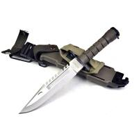 spike 现役军刀D80户外野营直刀 工艺刀刀具 探险救生刀 户外刀具 战术直刀 户外极限生存 户外刀具 配刀套