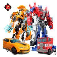 变形玩具金刚5 儿童热销益智玩具大黄蜂擎天侠恐龙汽车机器人 大黄蜂-变5