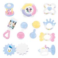 男孩迪士尼婴儿玩具0-3-6-12个月新生儿宝宝玩具手摇铃正版授权 早教 益智玩具 【7件套】迪士尼摇铃+彩盒装