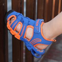 夏季男童凉鞋沙滩鞋中大童软底儿童凉鞋