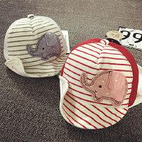 宝宝鸭舌帽1-2岁棒球帽夏天网帽薄款透气婴儿帽子6--24个月遮阳
