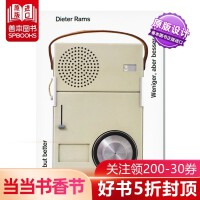 Less but Better 少即是好 迪特・拉姆斯Dieter Rams 产品设计原版进口作品书籍