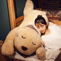 抱抱熊抱枕长条枕懒人睡觉娃娃趴趴熊毛绒玩具公仔