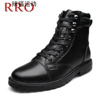 马丁靴男靴子高帮鞋特种兵作战军靴子棉鞋
