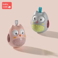 babycare不倒翁玩具3-6-12个月宝宝儿童音乐早教 0-1周岁婴儿益智 猫头鹰