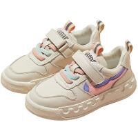 女童板鞋小白鞋2020春季新款中大童�和��\�有�