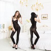 SMMS女式情趣睡衣柔情天使锦纶性感诱惑套装女式透明大码蕾丝网纱装大码睡衣 黑 均码