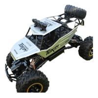 合金版超大遥控越野车四驱充电高速攀爬大脚赛车儿童玩具汽车模型