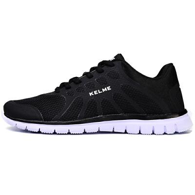 KELME卡尔美 876703 情侣款运动轻便跑步鞋 网面透气运动鞋 减震耐磨综训鞋 减震 防滑 耐磨 透气