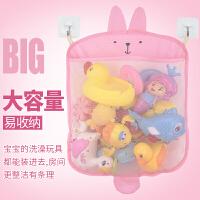 宝宝浴室洗澡玩具卡通挂袋洗浴用品网状多用收纳袋戏水玩具袋子