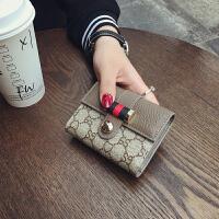驾驶证卡包印花驾驶证新款卡位银行卡包女小卡短款头层韩版迷你帆布斜挎包