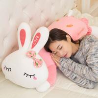 兔子毛绒玩具公仔可爱萌女生小布娃娃公主抱枕睡觉女孩韩国玩偶