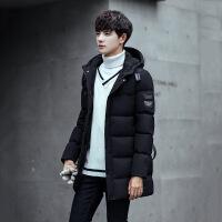 新款冬装中长款棉衣外套青年男士潮学生棉袄