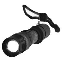 GASLION 格狮伦 变焦登山手电 强光手电 户外小手电(专业版)LED 强光手电 白光 GHW019