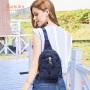 【2.5折价:152】莱夫女士胸包女2018新款潮韩版百搭斜跨胸前包迷彩单肩斜挎包女包