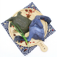 【霸王别姬】农谣 乌鸡炖甲鱼 传统名菜 散养乌骨鸡甲鱼各一只 顺丰包邮