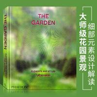 【英文版】The Garden Elements and Styles 大师级花园景观细部元素设计解读 公园 花园 庭院