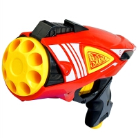儿童玩具枪转轮软弹枪可发射安全男孩礼物5-6-7-8岁