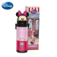 迪士尼儿童卡通头水杯 卡头吸管保温杯 小学生不锈钢便携水壶