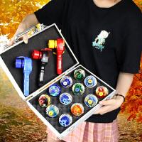 变战陀圣焰红龙猎冰蓝龙赠对战斗盘儿童合体站图途陀螺玩具