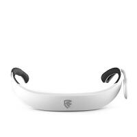 量子盾 智能口罩 便携式穿戴负离子空气净化器基础版 象牙白