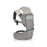 【网易考拉】crobe 多功能抱婴腰凳婴儿背带MIX 灰色 四季透气款