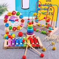 儿童绕珠串珠益智玩具婴儿6-12个月男孩宝宝早教0-1-2岁3周岁女孩