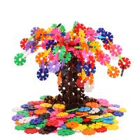 雪花片儿童积木玩具3-6周岁男孩1-2女孩拼装拼插1000片