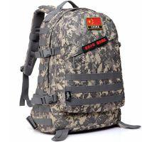 户外军迷背包迷彩战术双肩包男3D旅游野营登山包作战包秋季 36-55升