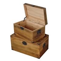 木箱�ξ锵湫∈占{箱定制�фi�凸��木箱茶�籽b����w大木箱子盒子