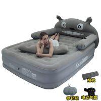 充气床垫家用加厚双人龙猫卡通可爱懒人床气垫床折叠床充气地垫SN1778 1x1x1cm