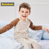 巴拉巴拉儿童内衣套装长袖秋衣秋裤男童薄款长袖睡衣棉质卡通服饰