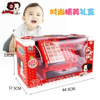 儿童收银机玩具刷卡机话筒益智过家家多功能仿真超市套装