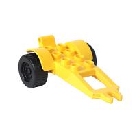 大颗粒塑料积木拼插拼装玩具配件散件飞机工程车小汽车
