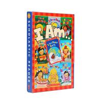 点读版 科学启蒙系列I Am library 10册 廖彩杏书单推荐 英文原版绘本 儿童科普英语图画书 支持好饿的毛毛