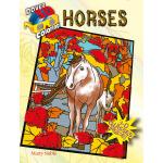 3-D Coloring Book--Horses