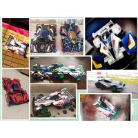 儿童玩具迷你赛车模型组装 四驱车四驱兄弟 拼装