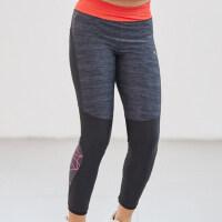 户外女童打底裤弹力儿童健身运动裤时尚紧身裤