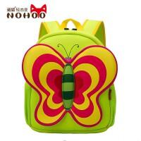 儿童书包幼儿园女童可爱卡通背包小学生蝴蝶造型双肩包诺狐正品