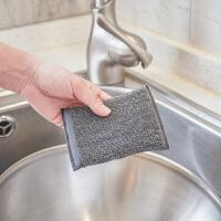 2片装魔力擦洗碗巾洗碗海绵擦刷锅神器不粘油不伤锅洗碗布抹布百洁布