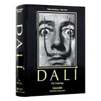 达利画册 Dali 英文原版 超现实主义绘画作品集 大师经典艺术作品录画集 TASCHEN进口原版