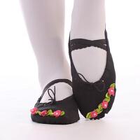小孩软底幼儿园宝宝跳舞学生演出鞋儿童舞蹈鞋女童芭蕾舞鞋练功鞋